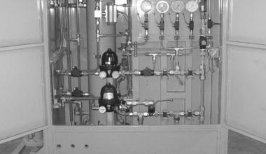 Cabine di Riduzione Metano